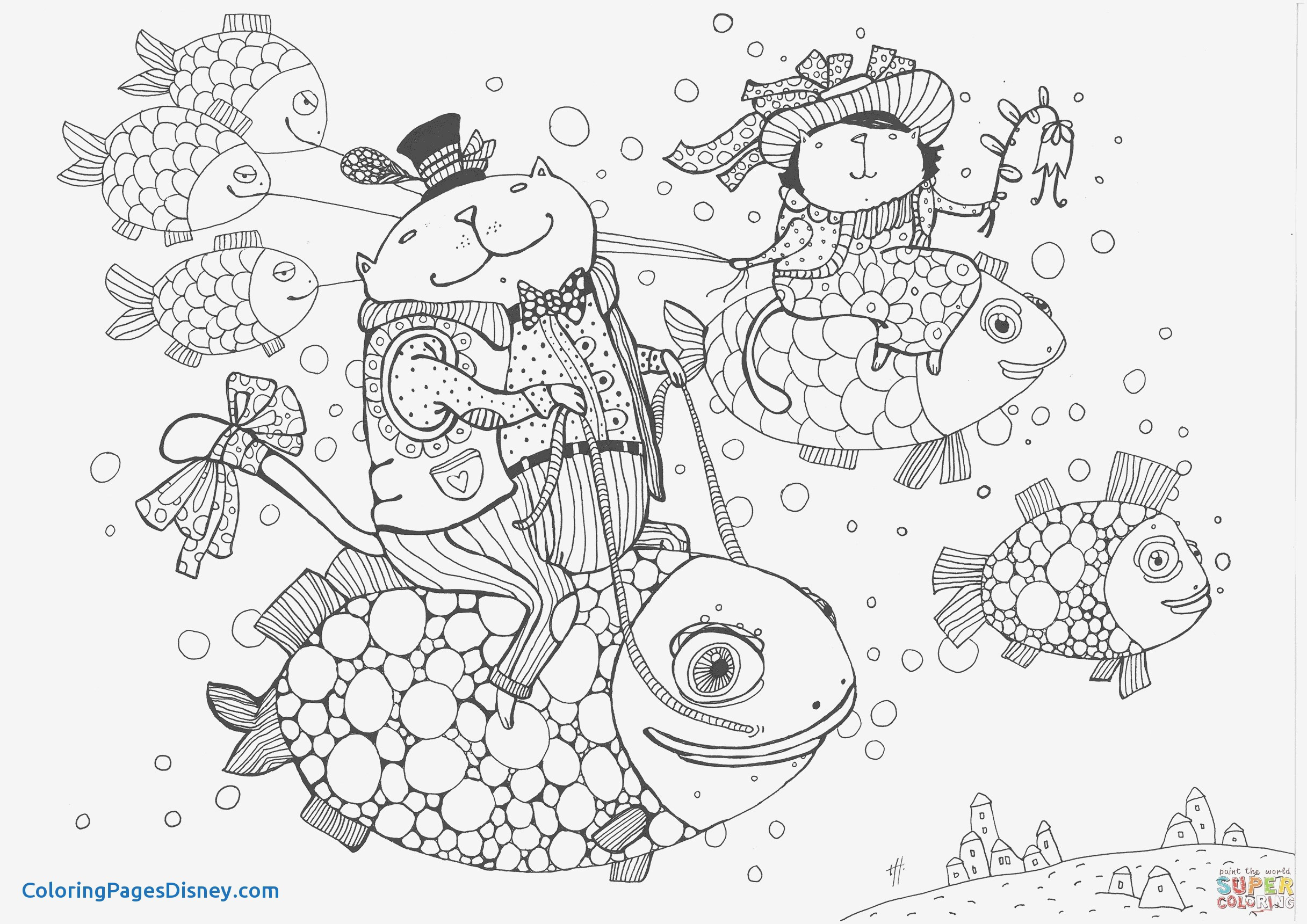 Victorian Christmas Coloring Book With Pages Printable