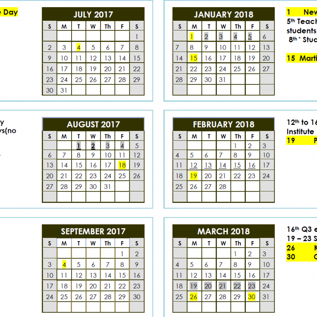 Vietnamese New Year 2019 Calendar With 2017 2018 School Laupahoehoe Community Public
