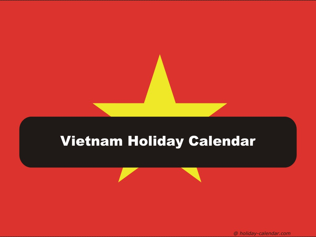 Vietnamese New Year 2019 Calendar With Vietnam 2018 Holiday
