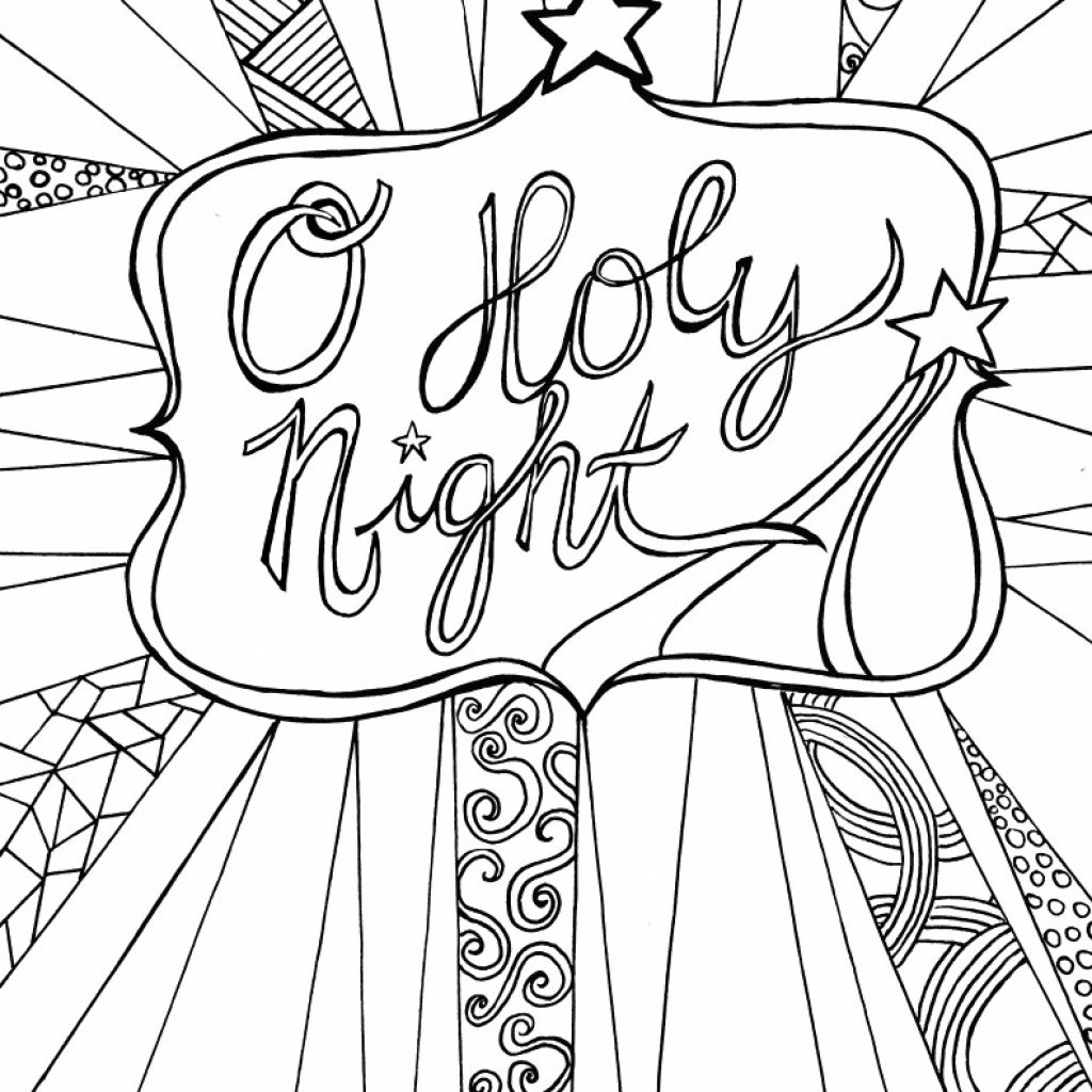 Vintage Santa Coloring Page With Christmas Pages Printable For Kids