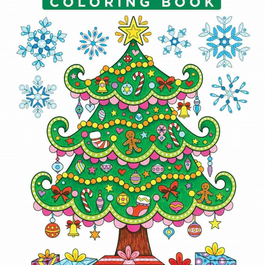 Xmas Coloring Book Pages With Color Christmas By Thaneeya McArdle Official