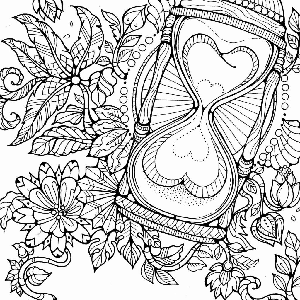 Xmas Coloring Pages With Santa Color