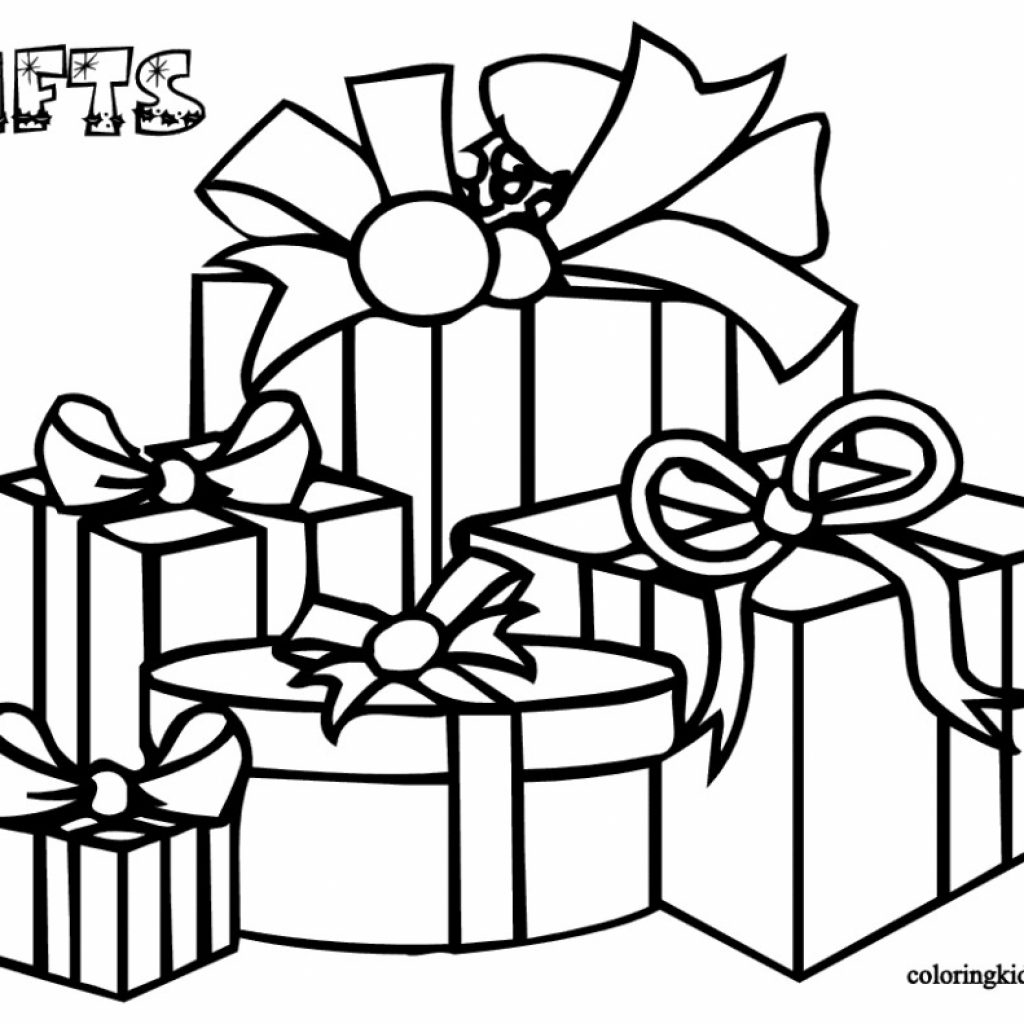 Xmas Coloring Pics With Color Pages Free Printable Christmas Decorations