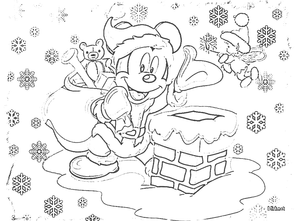 Xmas Coloring Pics With Mickey Mouse Pages Opticanovosti 601aa5527d71