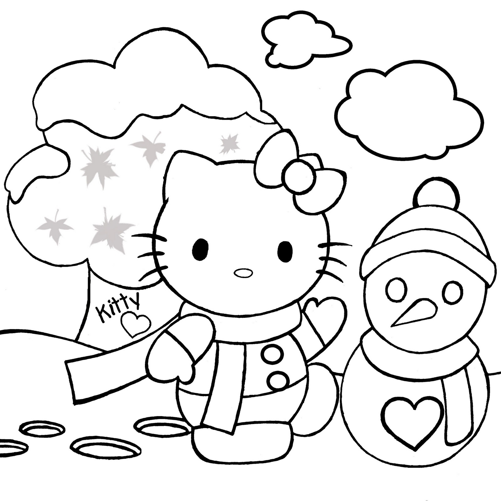 Xmas Coloring Pics With Pages Gallery Free Books