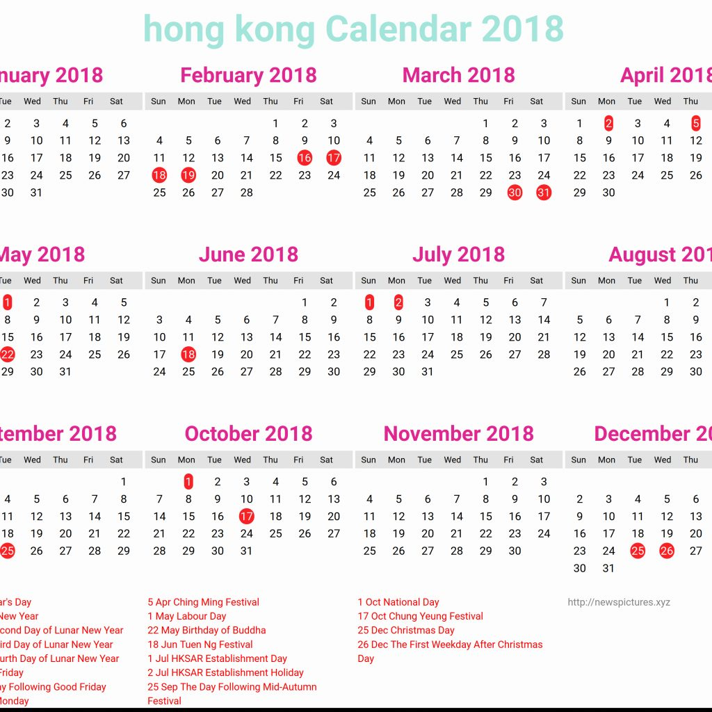 Year 2019 Calendar Hk With Calender Hong Kong 2 Printable Coloring Page For Kids
