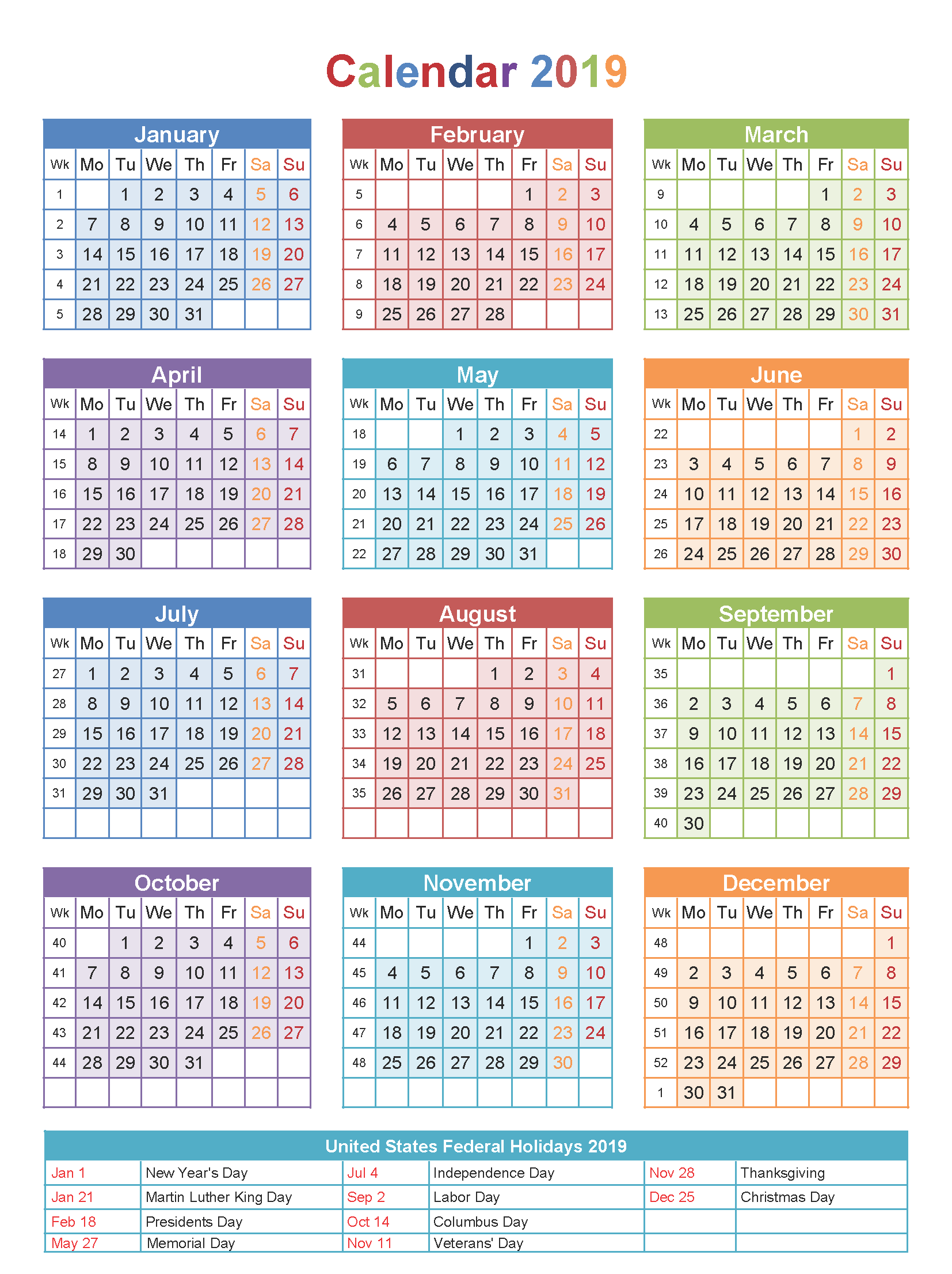 Year 2019 Calendar India With Holidays And Festivals Pdf Hype Journey
