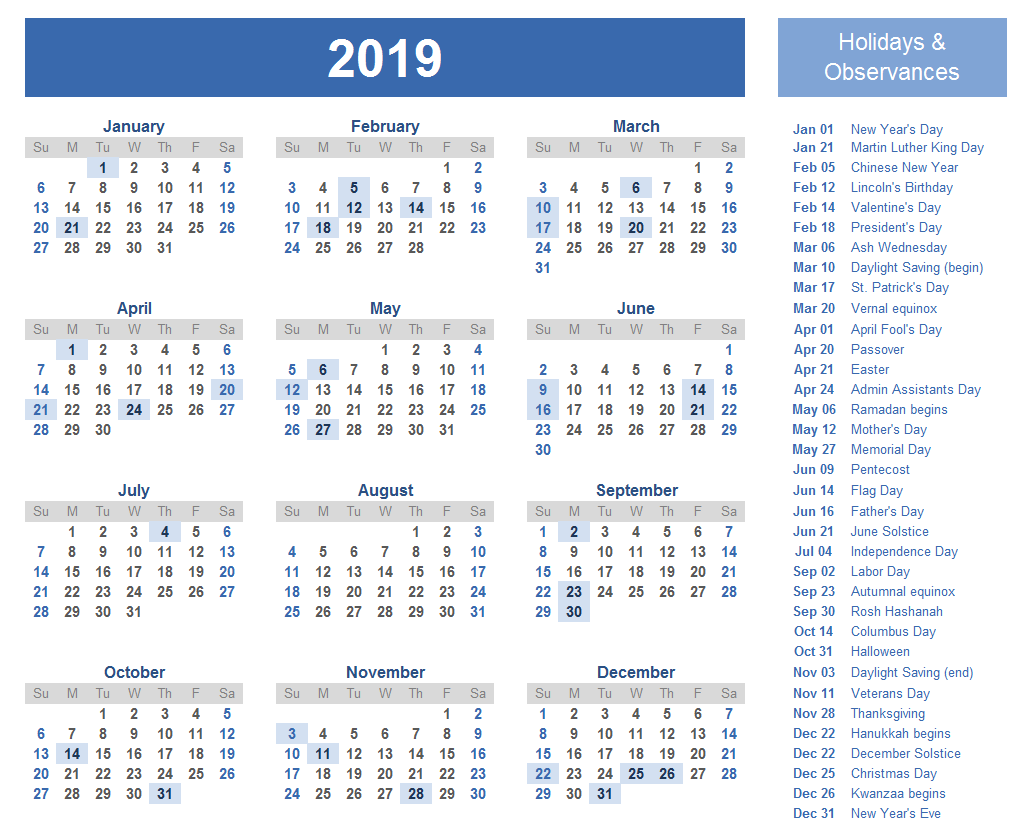 Year 2019 Calendar India With Yearly Template Indian Holidays Free Public