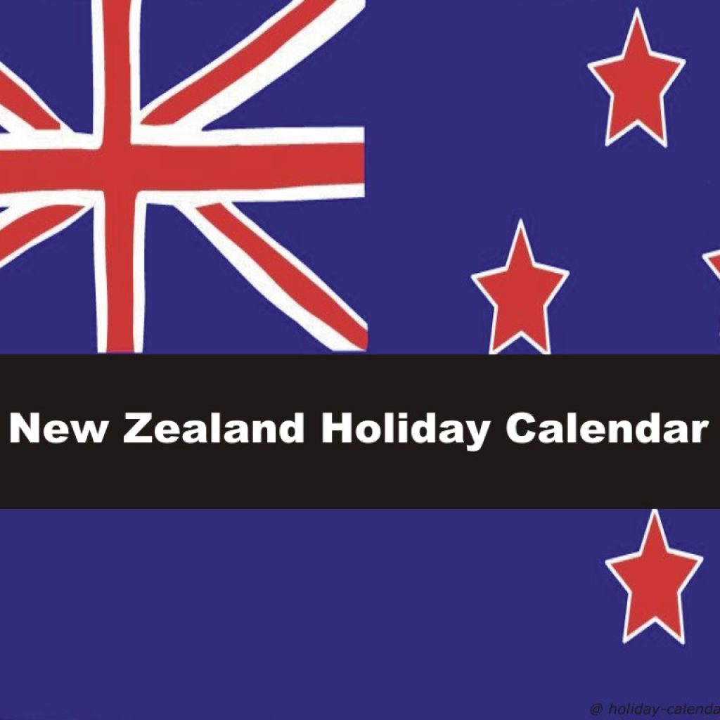 Year 2019 Calendar New Zealand With 2018 Holiday