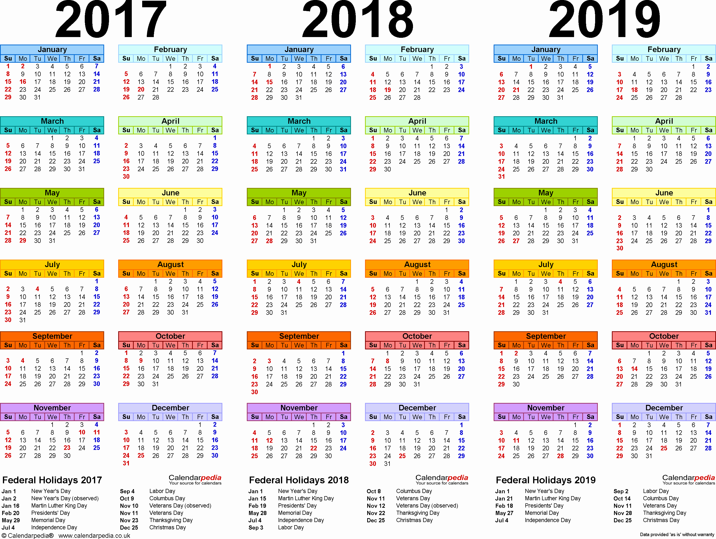 Year 2019 Calendar Uk With August 2018