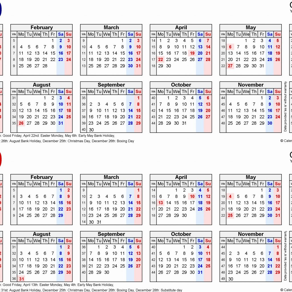 Year 2019 Calendar Uk With New 37 Sample For Abohmza Com