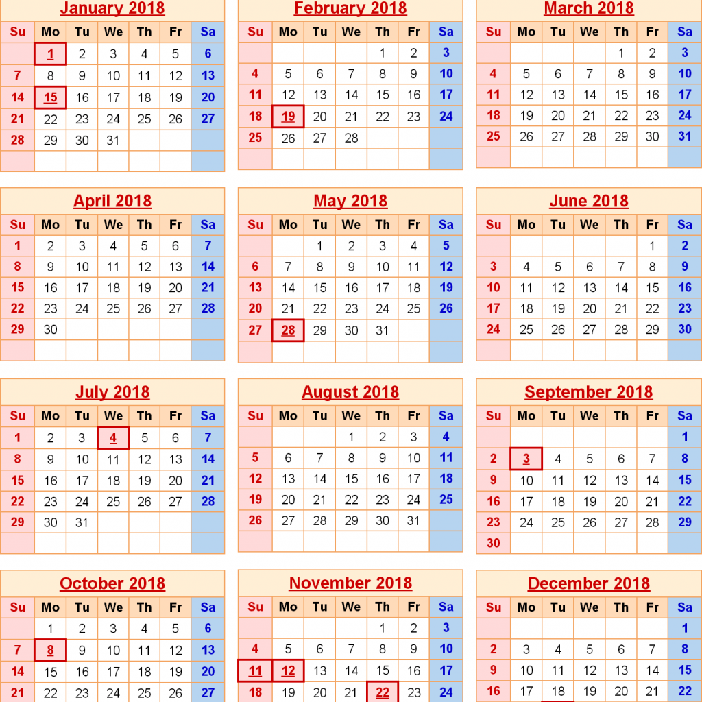 Year 2019 Calendar United Kingdom With 2018 States Holidays Calendars Pinterest