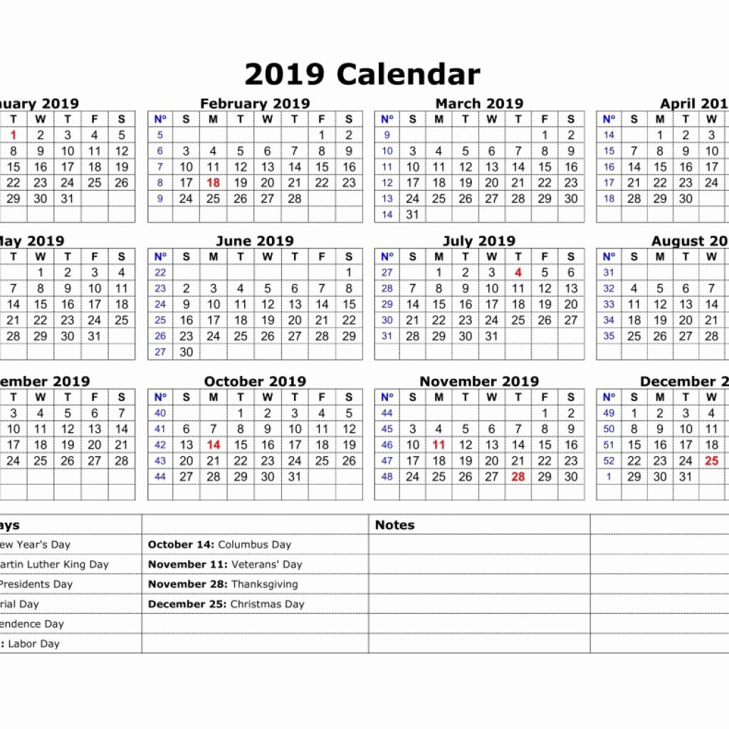 Year 2019 Calendar United States With Lovely 37 Sample Federal Holidays Abohmza Com