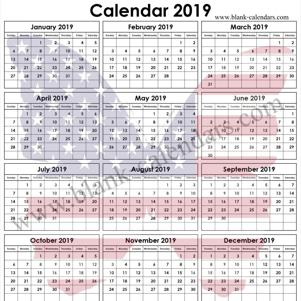 year-2019-calendar-united-states-with-printable-template