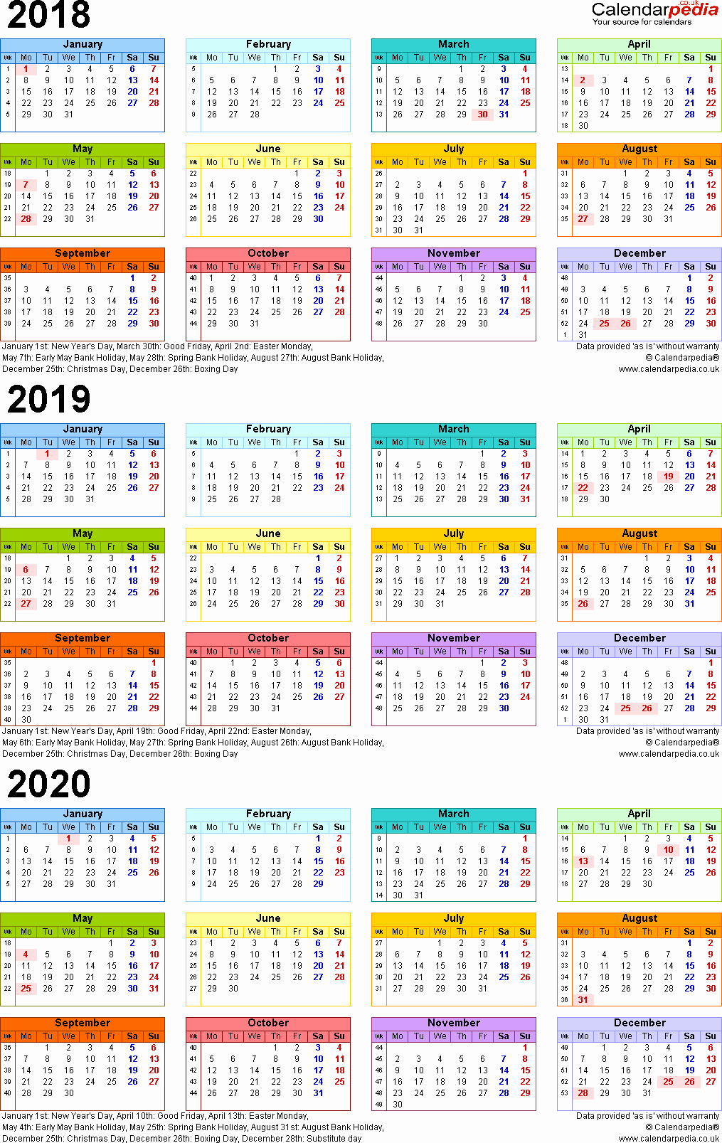 Year C 2019 Church Calendar With Planner 2018 Three Calendars For 2020 Uk
