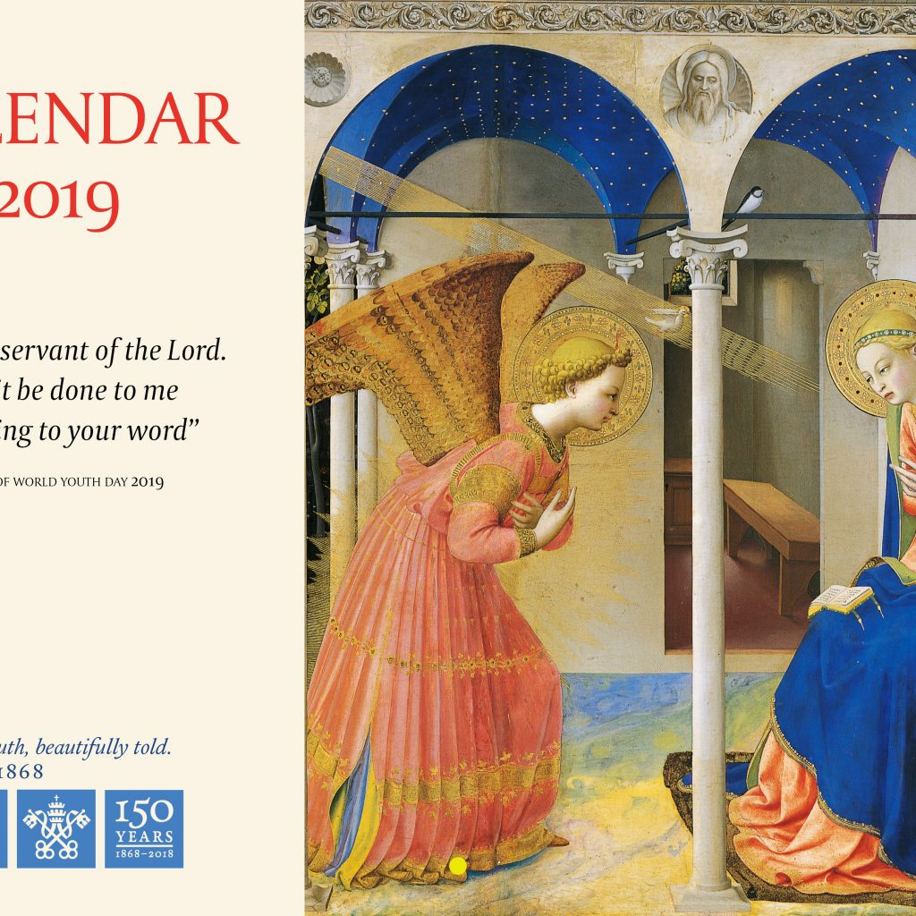Year Of Grace Calendar 2019 With CTS