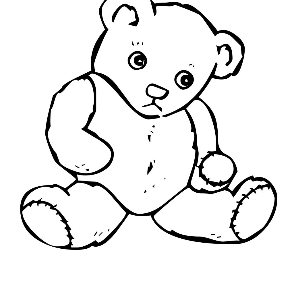 Yogi Bear Christmas Coloring Pages With Teddy Color Page Free Printable 838