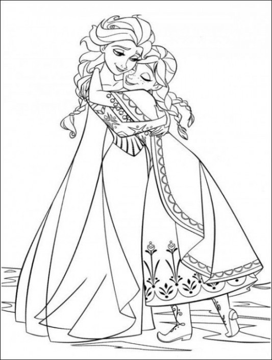 12 Free Disney Frozen Coloring Pages - Page 12 of 12 | Coloring Page's ...