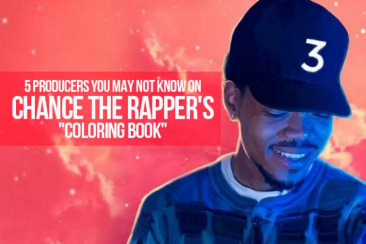 """12 Producers You May Not Know On Chance The Rapper's """"Coloring Book"""" – the coloring book chance the rapper"""