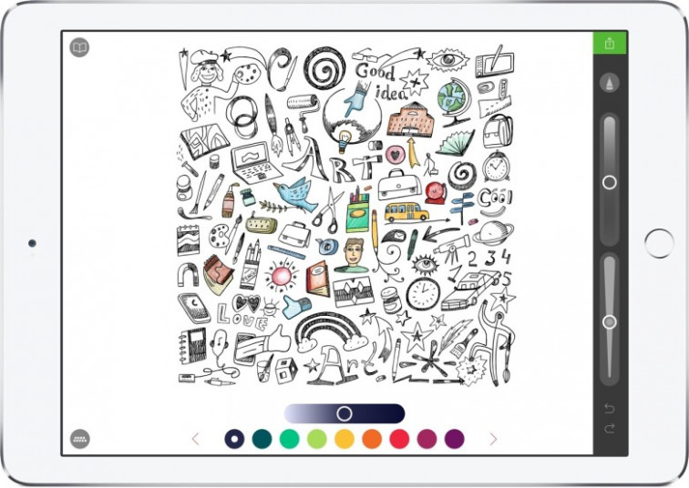 13 Apple Pencil apps for people that don't draw – ipad coloring book
