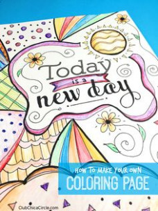 13 best Adult Coloring Books Projects  – where to make coloring book