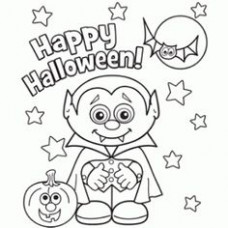 14 Best Haunted Halloween Coloring Book images | Coloring books ..