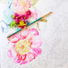15 best Watercolor Coloring Books for Adults images on Pinterest ..