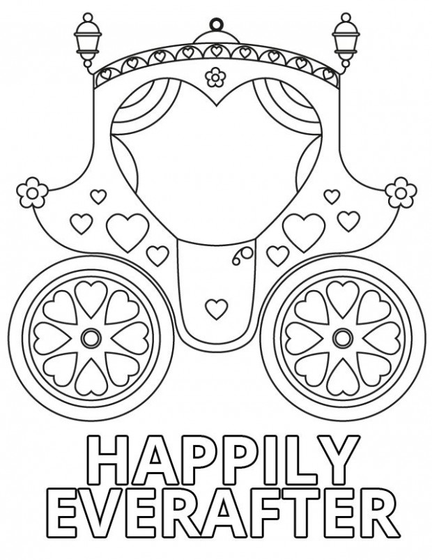 15 Wedding Coloring Pages for Kids Who Love to Dream About Their Big ...
