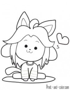 16 Best UNDERTALE COLORING PAGES images in 16 | Coloring books ...
