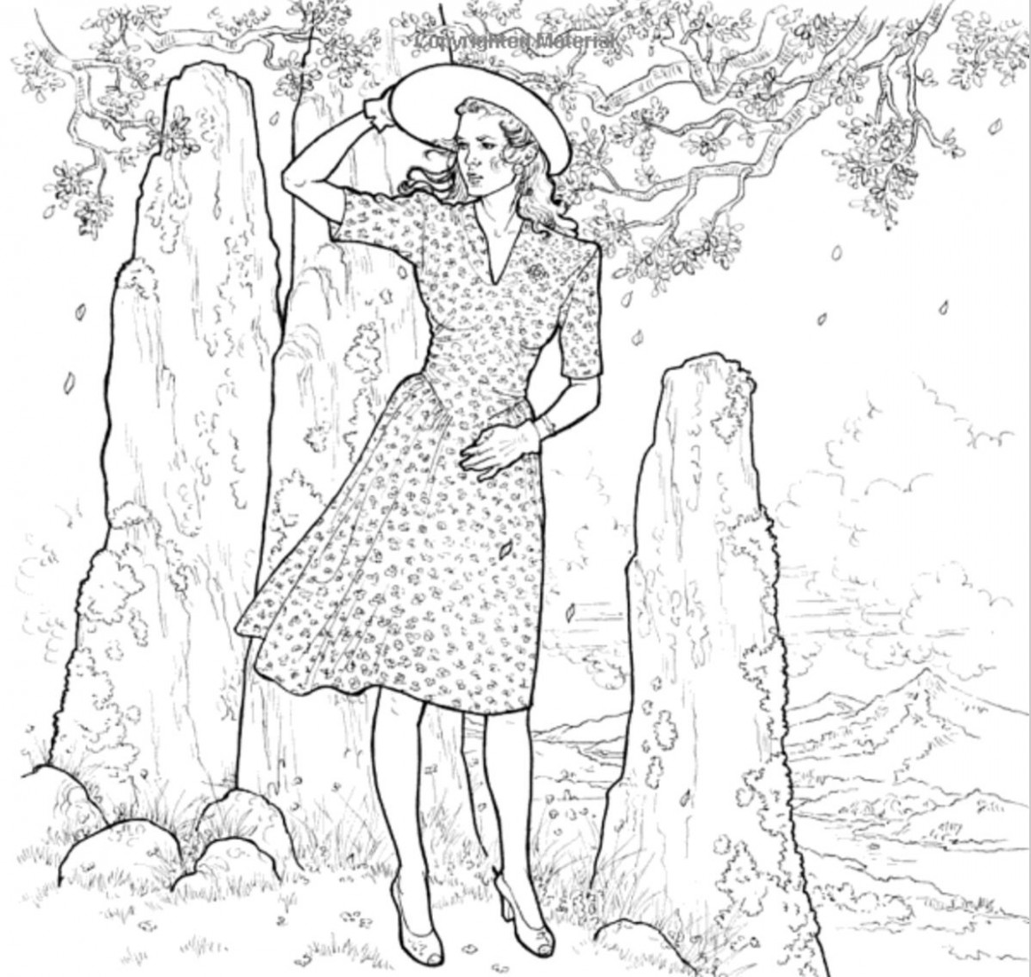 16 Things to Expect from the New 'Outlander' Coloring Book – outlander coloring book