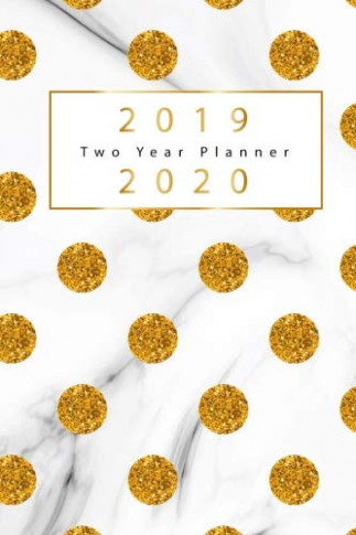 18 18 two year planner gold dots cover 18 year calendar 18 ...