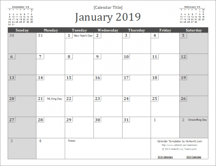 18 Calendar Templates and Images – Year 2019 Calendar Hong Kong