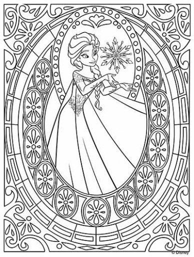 18 Frozen Coloring Pages (November 18 Edition) - Elsa coloring pages