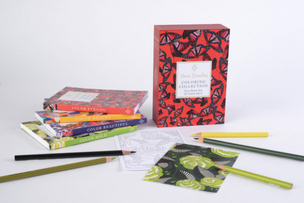 18 Holiday Gift Guide: Vera Bradley Coloring Books Add Beautiful ..