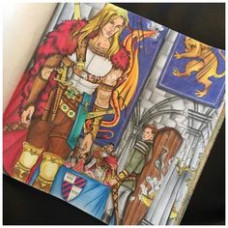 20 best Throne of Glass Coloring Book Pages images on Pinterest in ...