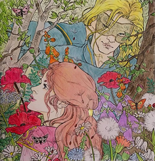 A Court of Thorns and Roses Coloring Book by Sarah J
