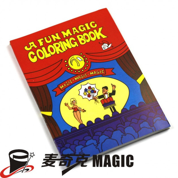 A Fun Magic Coloring Book (Large), Best Gift for Kids Funny ..