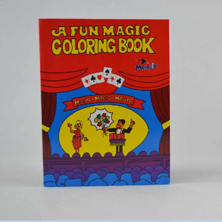 A Fun Magic Coloring Book medium size magic tricks,gimmick,best for ..