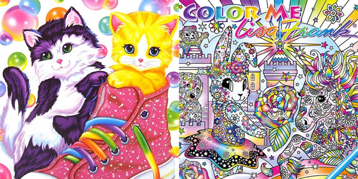 A Lisa Frank Adult Coloring Book Is Coming, And We Are Freaking Out ..