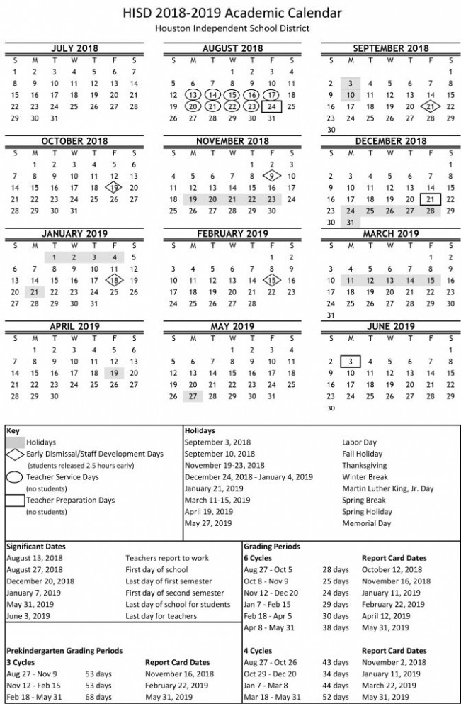 Academic calendar for 18-18 school year available online now ..