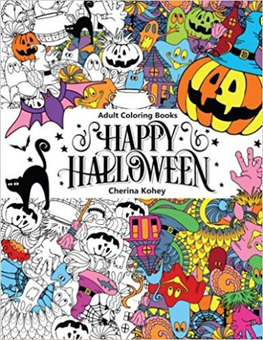 Adult Coloring Book: Happy Halloween : for Relaxation and Meditation ..