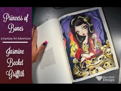 Adult coloring book} Jasmine Becket Griffith: A fantasy art ...