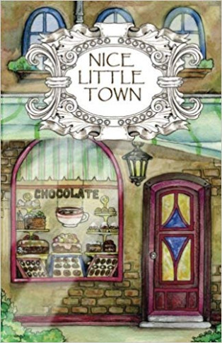 Adult Coloring Book: Nice Little Town (Volume 20): Tatiana Bogema ..