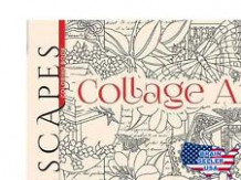Adult Coloring: ESCAPES Collage Art Coloring Book by Marty Noble ..