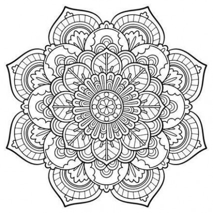 Adult Coloring Pages : 13 free online coloring books