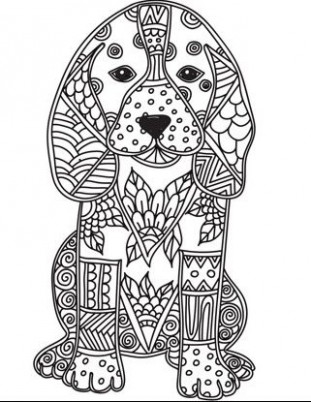 Adult colouring pages on the Zen Color app. It's a free iOS app ..