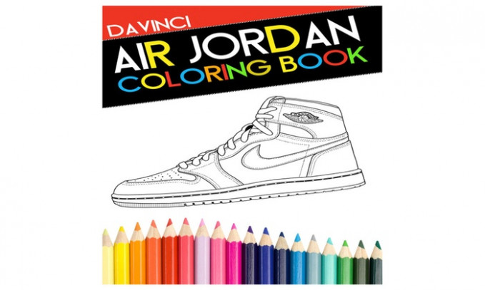 Air jordan coloring book | Groupon