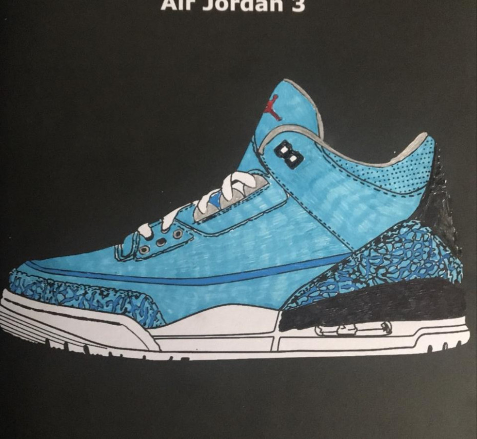 Air Jordan Coloring Book: Midnight Edition – ColoringBookLife