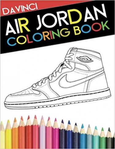 Air Jordan Coloring Book: Sneaker Adult Coloring Book: Amazon.de ...