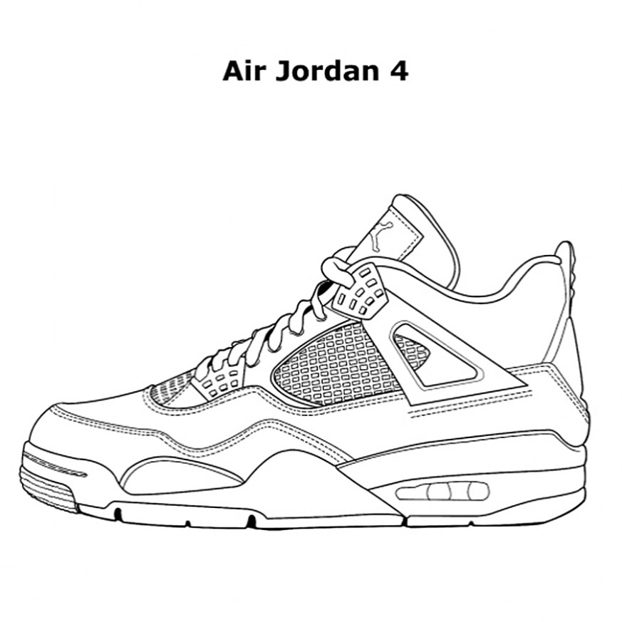 Air Jordans Color Book Provincial Archives Of Saskatchewan Sneaker ...